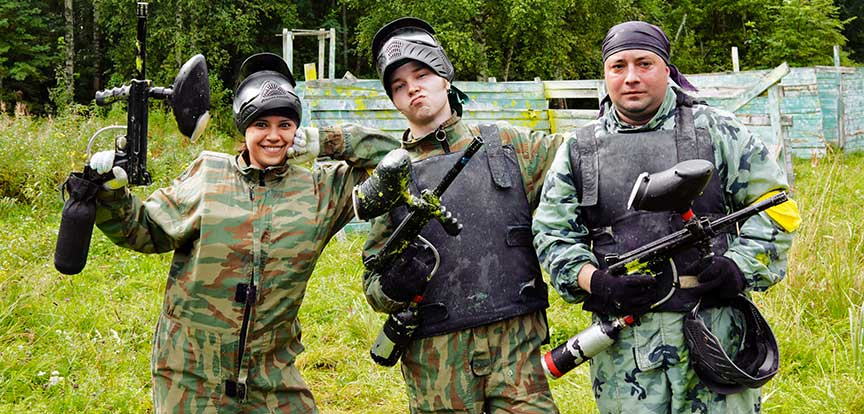 Europaintball - Paintball Bruxelles adultes